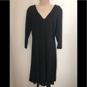 Lane Bryant Black Dress 14/16